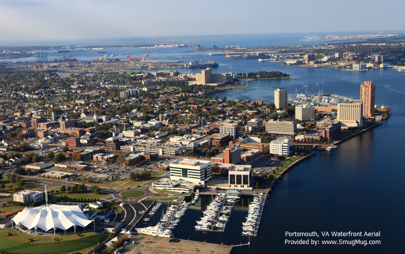 City of Portsmouth Aerial SmugMug.com